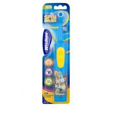 2352 - Электрическая детская зубная щетка Wisdom с 6 лет .