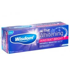 Зубная паста Wisdom Active Whitening Instant Bright Toothpaste 75 ml