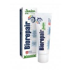 BIOREPAIR JUNIOR 7-14   Детская зубная паста мятная 75ml