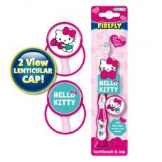HK-3 Детская зубная щетка Hello Kitty Toothbrush with cap