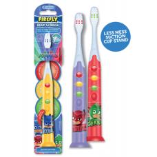 Детская зубная щетка  PJ MASKS  Детям с 3-х лет.