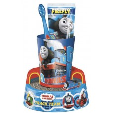 TF-13 Детский набор для чистки зубов Thomas&Friends Toothbrush Timer with Beaker & toothpaste