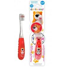 d2680 Зубная щетка Dentissimo Kids Timer (3-6 лет), мягкая щетина