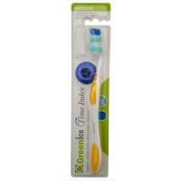 1439 Greenice Зубная щетка Greenice Time Index средней жесткости c индикатором