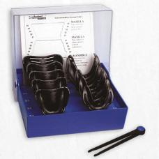 Набор ложек 10шт для снятия оттисков под полное протезирование