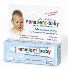 Детская зубная паста Nenedent baby