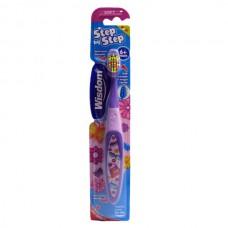 2385  Детская зубная щетка Wisdom Step by Step с 6 ти лет.