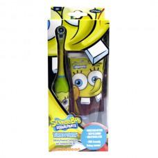 Детский набор для чистки зубов Spongebob TURBO Gift Set
