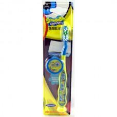 Детская зубная щетка Spongebob Toothbrush with cap