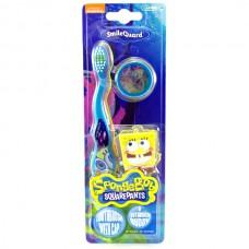 Детская зубная щетка Spongebob Toothbrush with cap & buddy