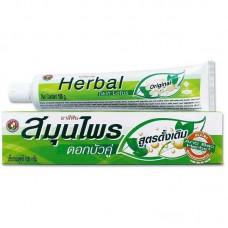 """0013 Зубная паста """"Herbal Twin Lotus Original"""" """"C травами оригинальная""""100 гр"""