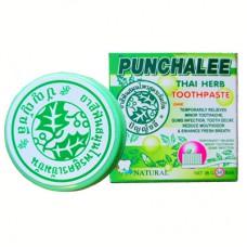 """7612Растительная зубная паста Панчале """"Punchalee Herbal Toothpaste"""" 25 гр"""