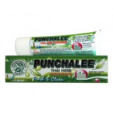 """7629Органическая зубная паста Панчале с тайскими травами """"Punchalee Herbal Toothpaste"""" 80 гр"""